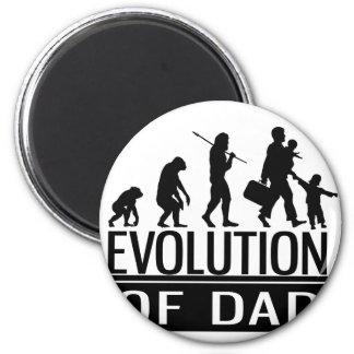 evolutie van papa magneet
