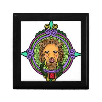 Exclusieve de Kunst van de leeuw Decoratiedoosje