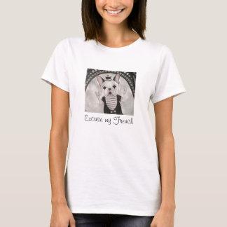 Excuseer mijn Franse T-shirt