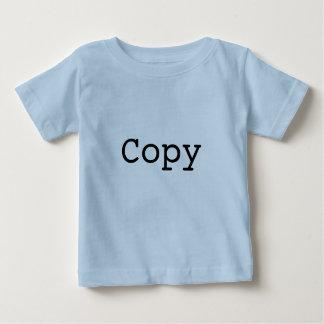 """Exemplaar en Deeg voor Tweelingen """"EXEMPLAAR """" Baby T Shirts"""