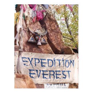 Expeditie Everest Briefkaart
