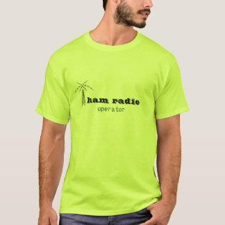 exploitant van het ham de radiologo t shirt
