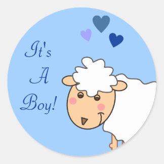 Extatisch is het de Stickers van het Baby van een