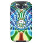 Extra-dimensionale Golvingen V het Geval van 3 Mel Samsung Galaxy S3 Covers
