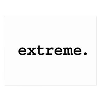 extreem briefkaart