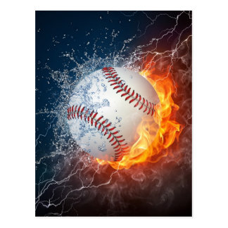 Extreem Honkbal Briefkaart