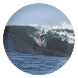 Extreme grote golf die Nieuw Zeeland surfen Bord