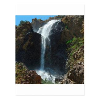 Extreme Herfsten van de Berg van het water de Briefkaart