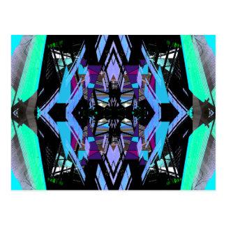 Extreme Kleurrijke Geometrische Gewaagde Briefkaart