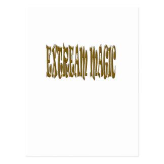 Extreme Magisch Briefkaart