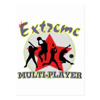 Extreme Multiplayer Briefkaart