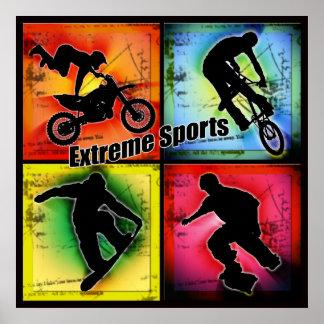 Extreme Sporten Poster