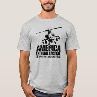 Extreme Tactisch van Amerika - Helikopter Apache T Shirt