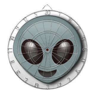 Eyed Vreemdeling van het insect Dartbord