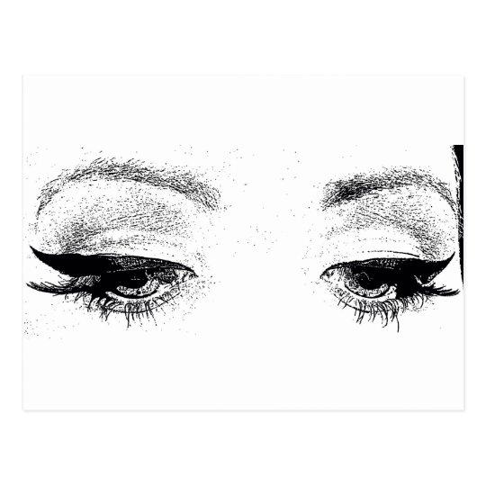 Eyes Briefkaart