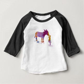 Ezel en kind baby t shirts