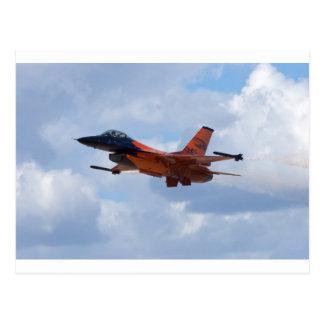 F16 het Vechten Valk Briefkaart