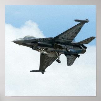 F16 het Vechten Valk Poster