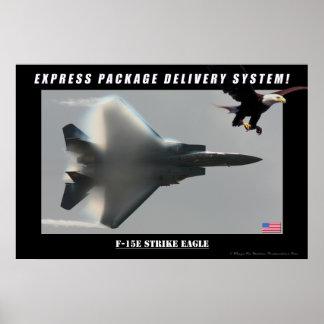 F-15E het Poster van de Levering van Eagle van de
