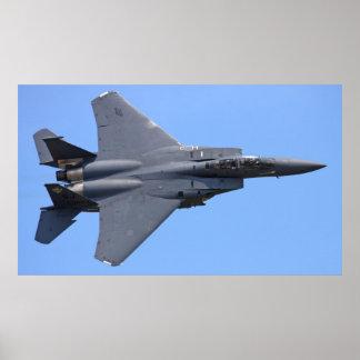 F-15E het Poster van Eagle van de staking