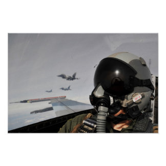 F-16 het Vechten Falcons Poster