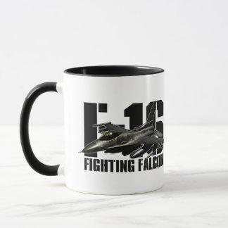 F-16 het Vechten Valk Mok