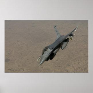 F-16 het Vechten Valk Poster