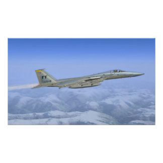 F-16 Staking Eagle Poster