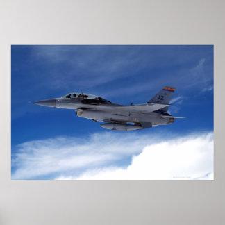 F-16 Twee Seater Poster