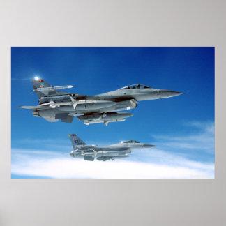 F-16 van de Luchtmacht Poster