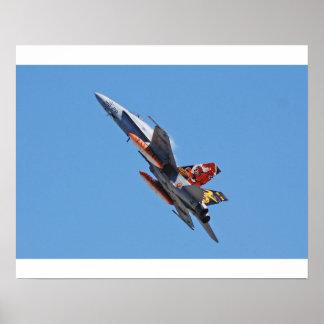 F 18A de Spaanse Luchtmacht van de Horzel Poster
