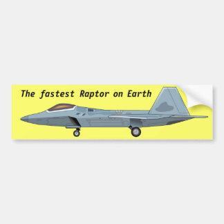 F-22 de Sticker van de Bumper van de roofvogel