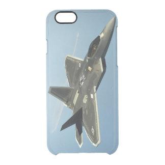 F-22 de Straal van de vechter Doorzichtig iPhone 6/6S Hoesje