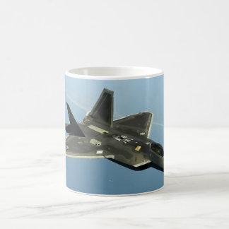 F-22 de Straal van de vechter Koffiemok