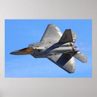 F-22 het Poster van de roofvogel