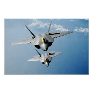 F-22 roofvogels poster