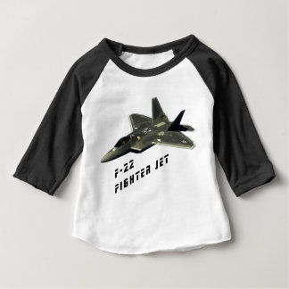 F-22 vechter Straal, Roofvogel Baby T Shirts