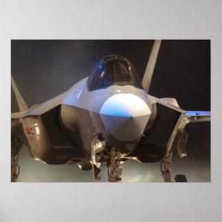 F-35 de gezamenlijke Vechter van de Staking Poster