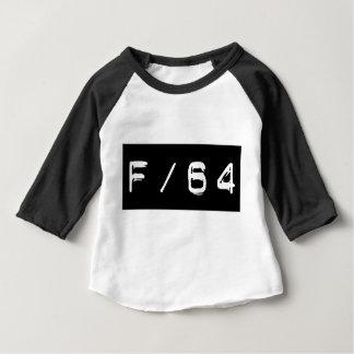 F/64 het T-shirt van het Honkbal van het Baby