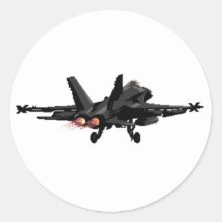 F/A-18 de StraalStickers van de Vechter van de Ronde Sticker
