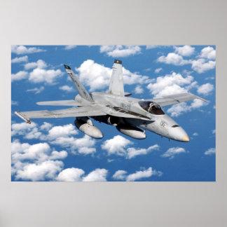 F/A-18 horzel Poster