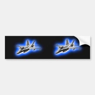 F/A-18 Lichtblauwe de Straal van de Vechter van de Bumpersticker