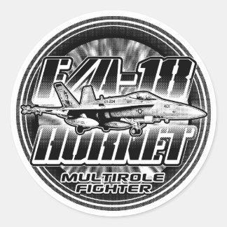 F/A-18 Sticker van de Sticker van de horzel de