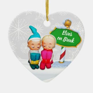 F-D Elf op de Ornamenten 53086C20 van Kerstmis van