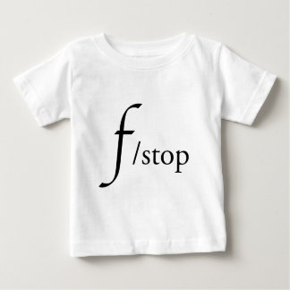 f/stop baby t shirts