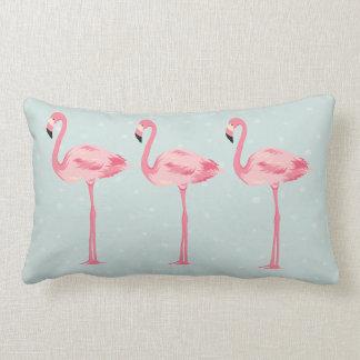 Fabelachtige Flamingo's Lumbar Kussen