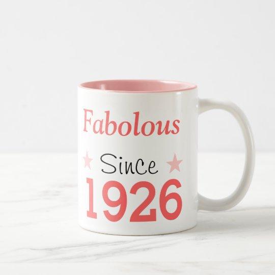 Fabulous Since 1926 Tweekleurige Koffiemok