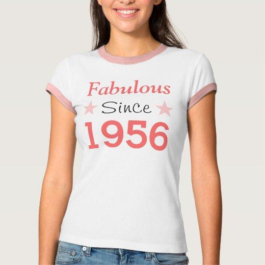 Fabulous Since 1956 T Shirt
