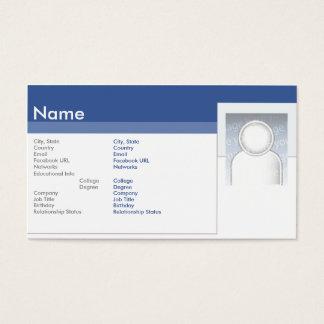 Facebook - Zaken Visitekaartjes