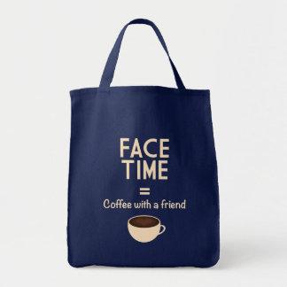 FaceTime = Koffie met een Vriend Draagtas